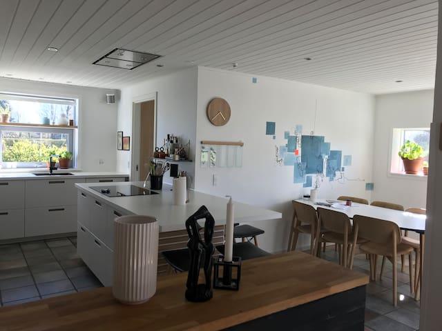 Cosy family house, quiet area close to LEGOLAND