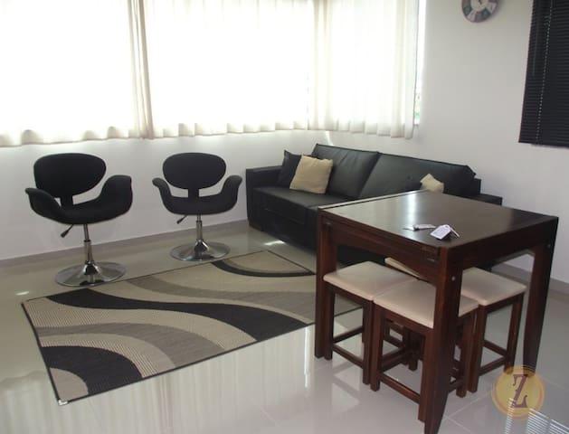 apartamento para 6 pessoas com wifi - Bombinhas - Wohnung