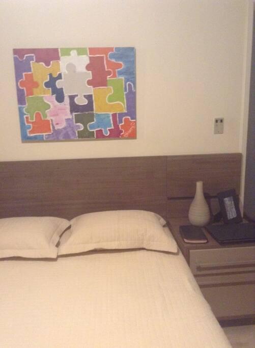 quarto com cama king size