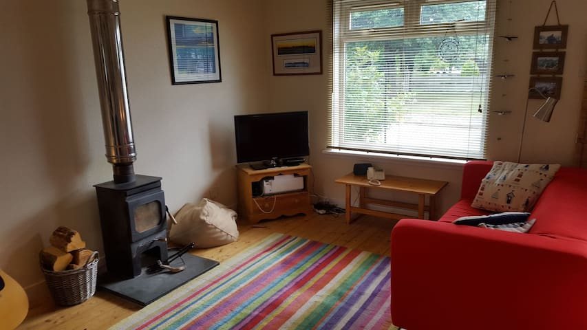 Cosy private space in the heart of Ullapool.