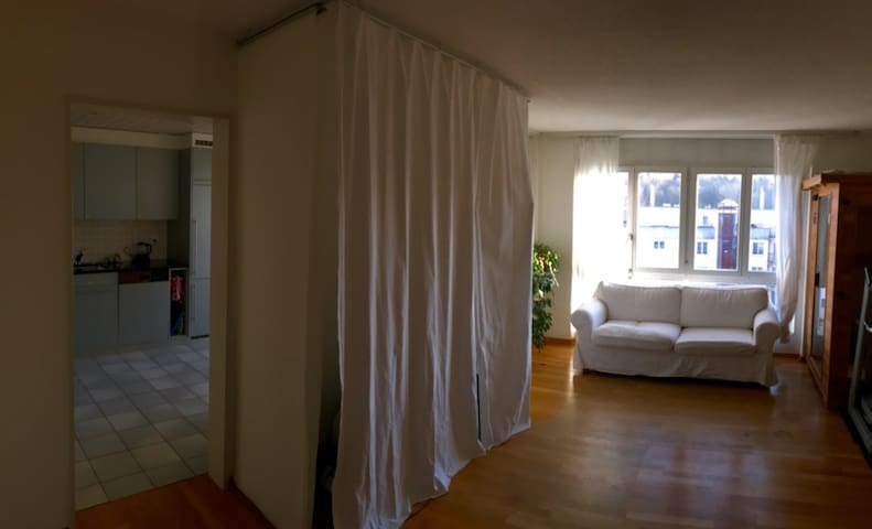 Lovely Apartment 5min to the Center of Bern - Ittigen - Appartement
