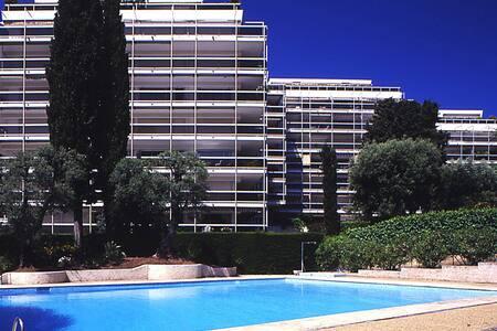 Studio Antibes avec piscine - Antibes - Appartamento