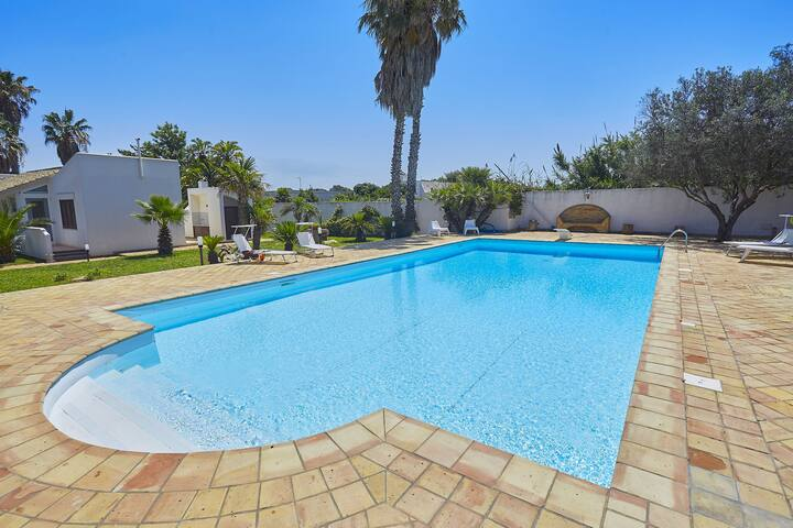 Lush Villa with Private Swimming Pool in Marsala Sicily
