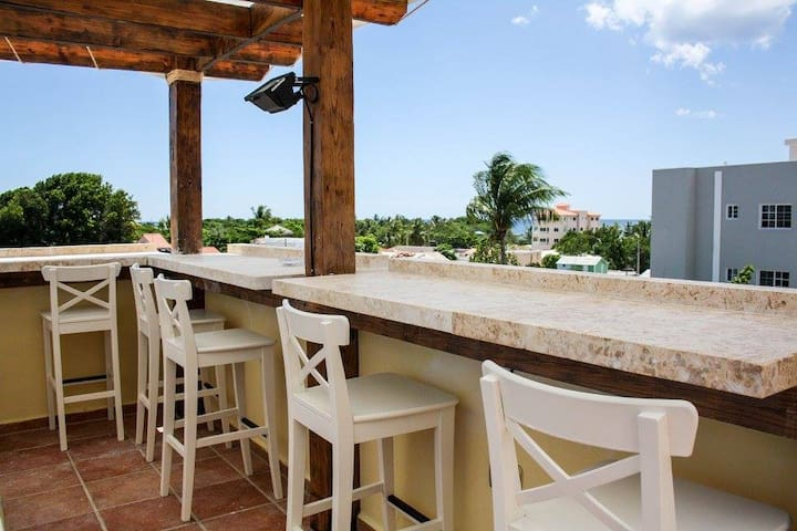 Tropical Bed & Breakfast in the Heart of Bayahibe