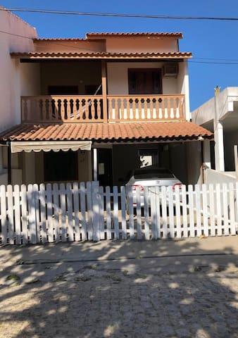 Casa de praia aconchegante em Farol de São Thomé