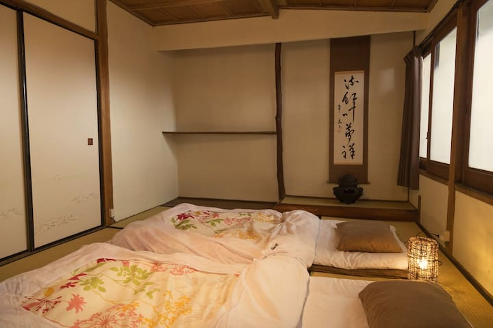 Guesthouse OKI's Inn - Private room with Tokonoma