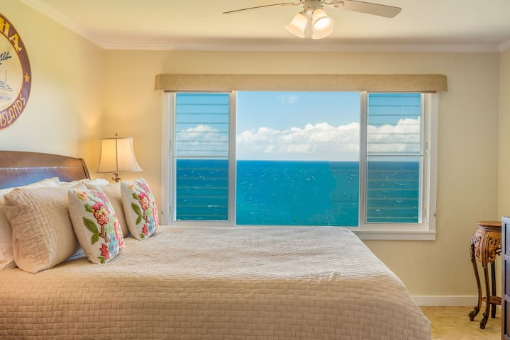 Master Bedroom with Forever Ocean Views