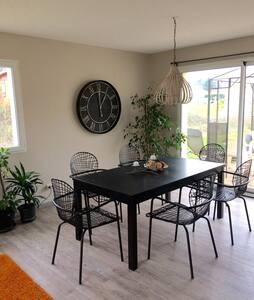 Chambre au calme dans maison individuelle - Léogeats
