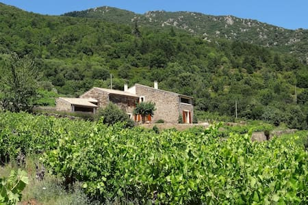 Old Stone Farmhouse With Great View - Mons