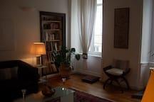 bel appartement en centre ville, sur rue piétonne