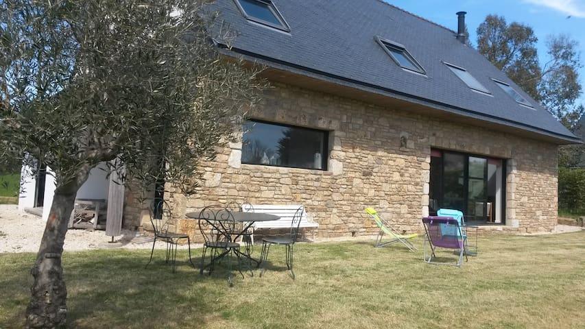 Villa contemporaine 13 pers Saint Gildas de Rhuys