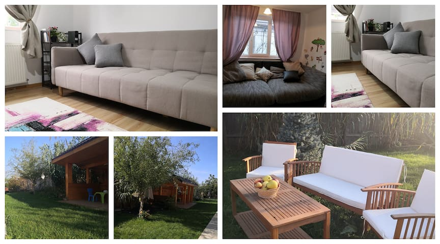 Country house with 1500sq garden near Bucharest