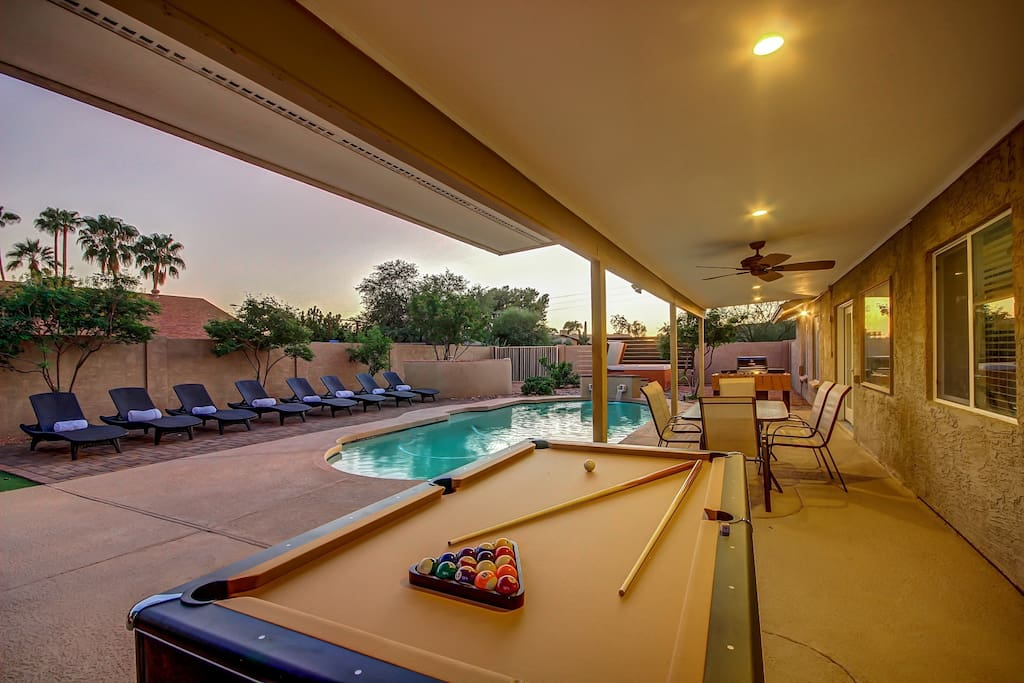 Outdoor Pool Table / TV