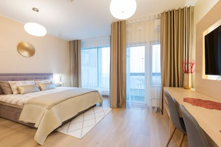 Luxury apartment in the city center