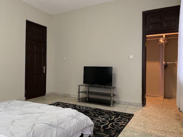 Bedroom 2 with walk-in-closet