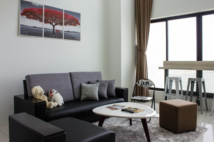 Penang Deluxe Homestay Seafront Gurney Drive - George Town - Apto. en complejo residencial