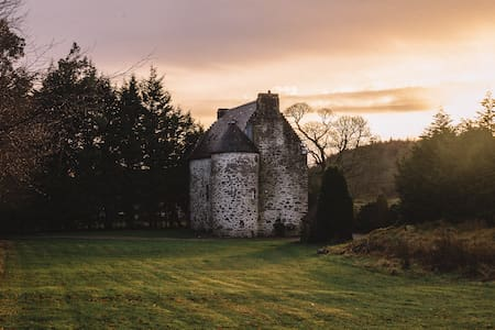 Rustic Scottish Castle Surrounded By History - Kilmartin