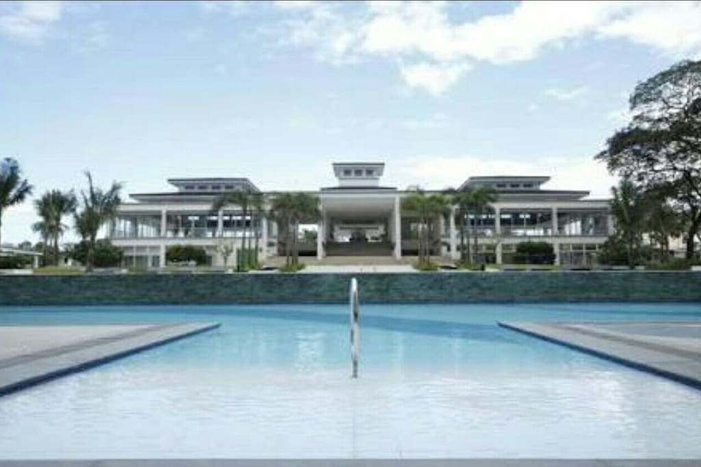 Resort type staycation condominium apartments for rent for Terrace 45 quezon city