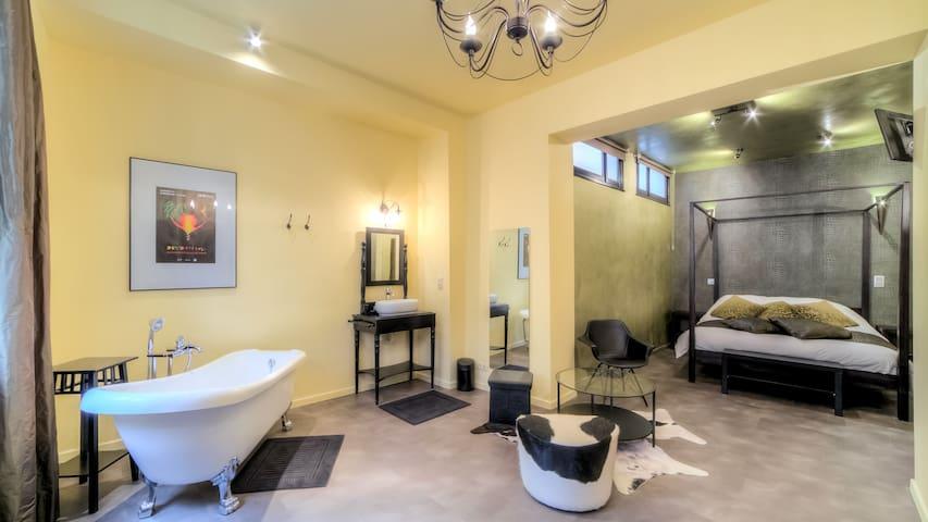 Grande Chambre Elégante CentreVille - Mons - House