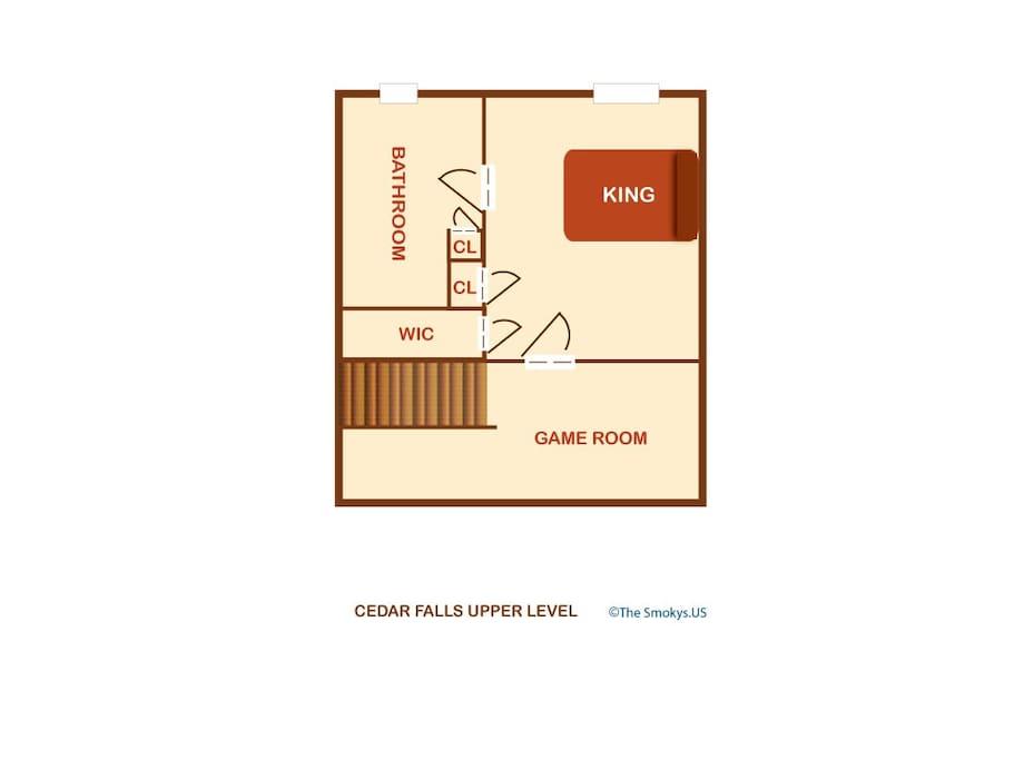 Cedar Falls (#8)-Floor Plan