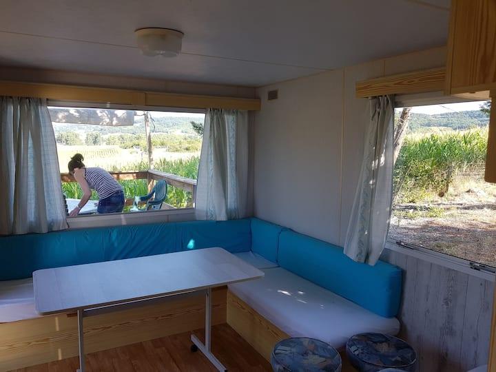 Mobile home des bambous... 2 chambres 4 personnes.