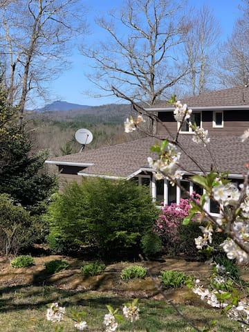 Large renovated house on 13 acres in the mountains