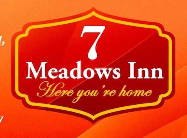 At 7 Meadows Inn - P 1,000.00 good for 2 pax