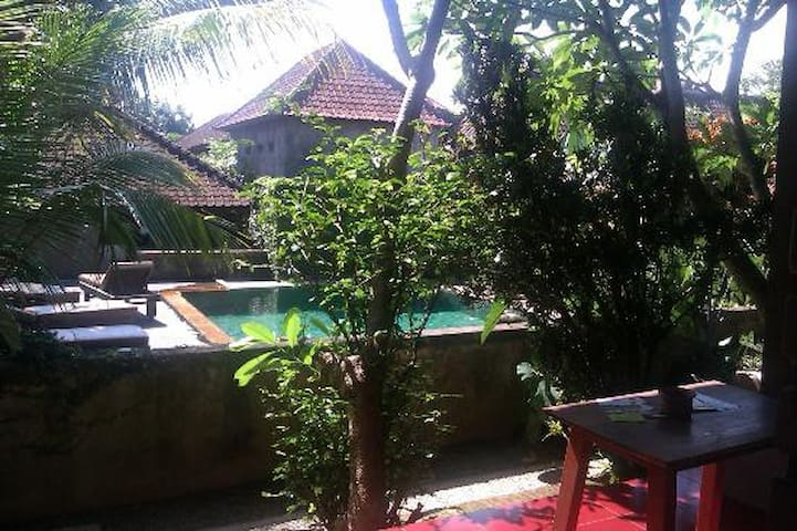 room with pool view