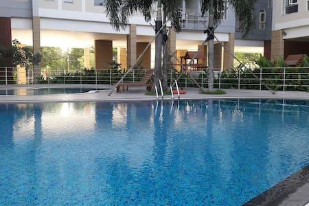 Huong homestay2 pool garden apartment Tân Phú HCMC