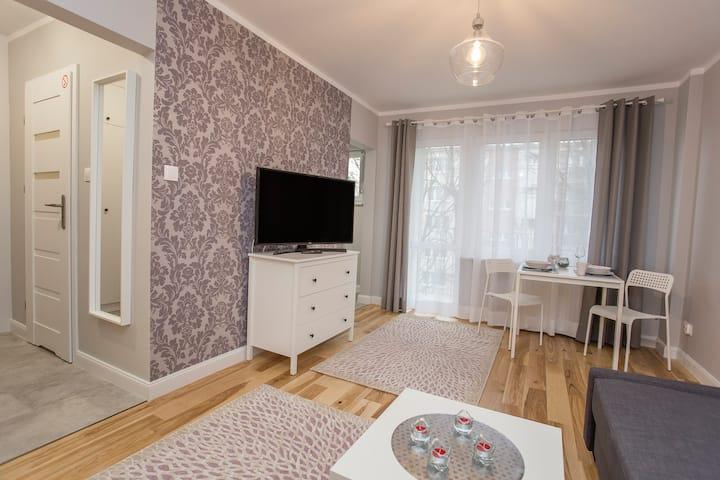 Apartament Broniewskiego 15