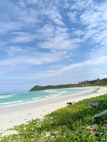 Bundac's house near the beach@Araceli, Palawan