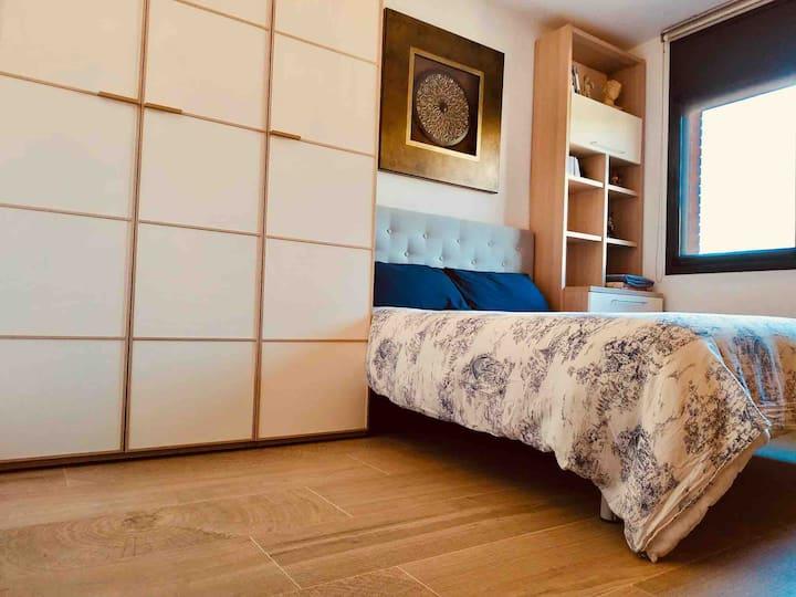 Habitación doble a 8km del centro Tarragona