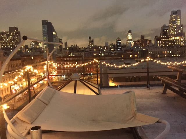 Dream View, Private Terrace, Perfect LES Penthouse - Nova Iorque - Farol
