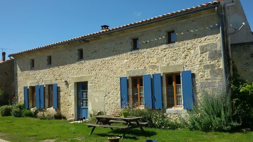 Maison Charentaise     3 étoiles - Coux - Casa