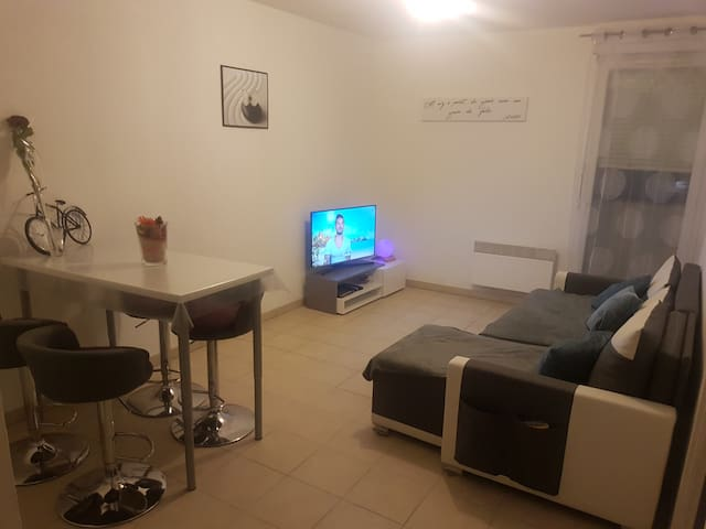 Logement entier: Joli t2 de 37m2 - Castelnau-le-Lez - Apartament