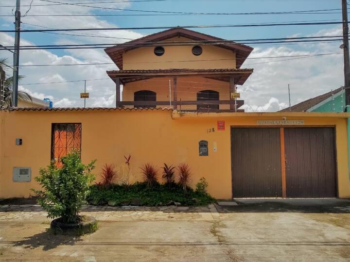 Casarão da Praia Guarujá - Suíte 7 - Casal Fundos