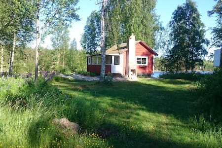 Cozy cottage next to lake & nature. - Arvika  - Talo