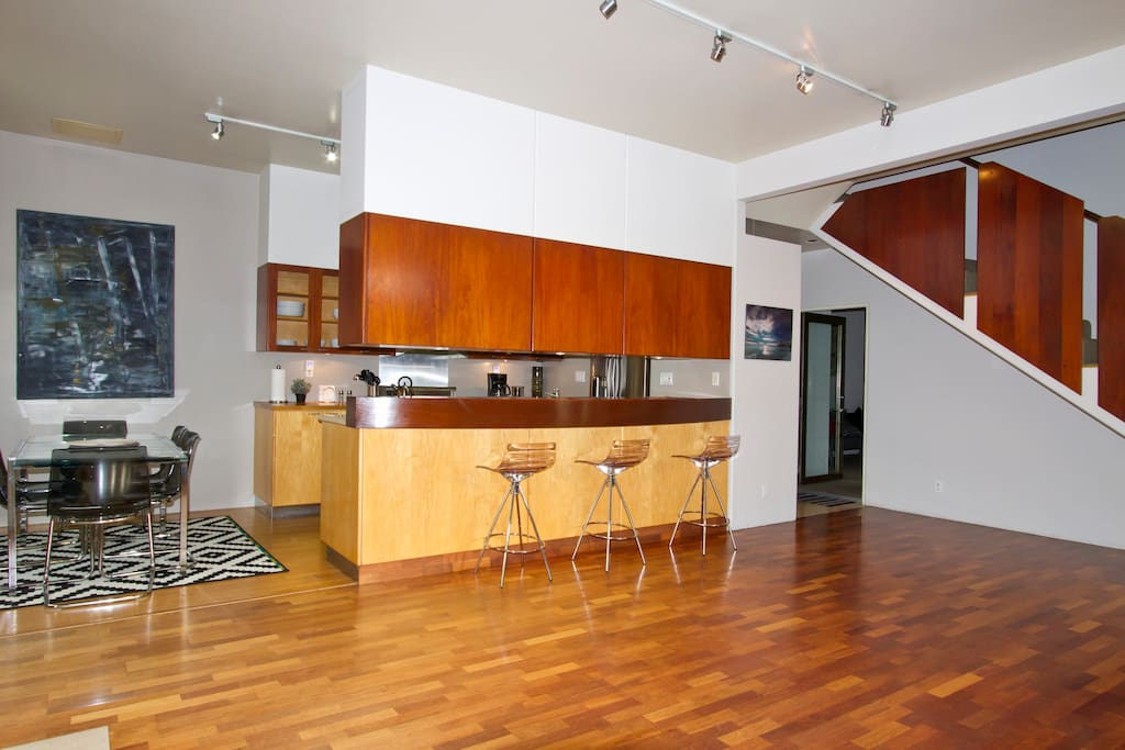 Amazing Design and Open Spaces with Mahogany and high end finishes