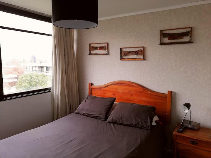 Habitación privada en Ñuñoa, Villa Frei. Santiago