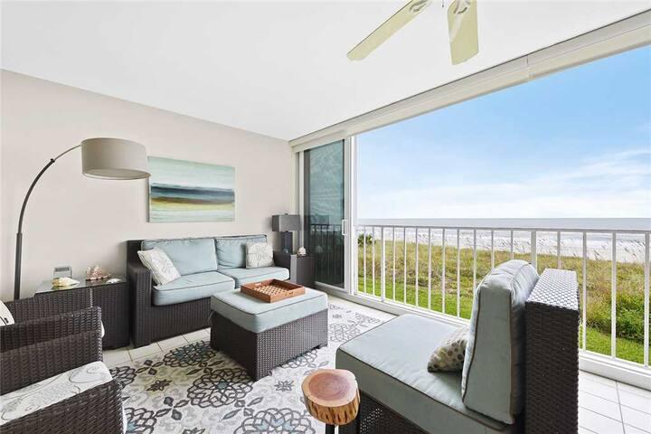 Ponte Vedra Ocean Manor 693C-104, Beachfront Condo, 3 Bedrooms, Sleeps 6