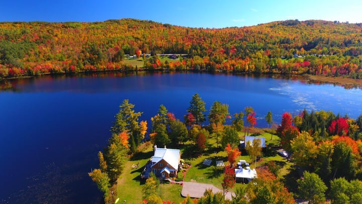 A RARE GEM! Waterfront, White Mountains, 211 acres