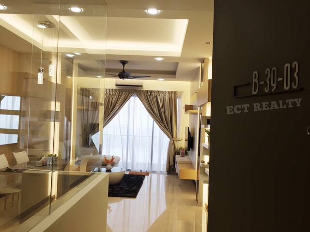 SILVERSCAPE RESIDENCE 3BRs SEA VIEW(B39-03) - Malacca - Lyxvåning