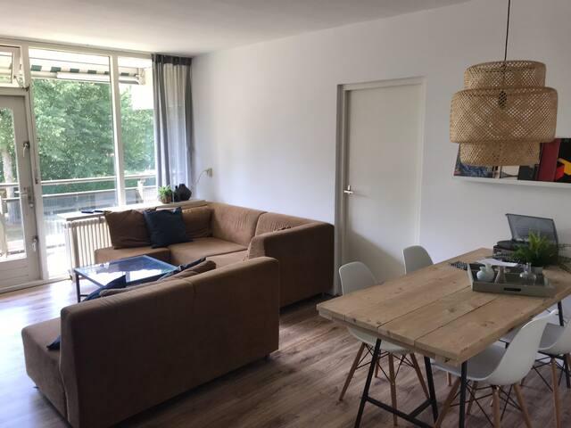 Rustgevend appartement nabij het centrum Hengelo.