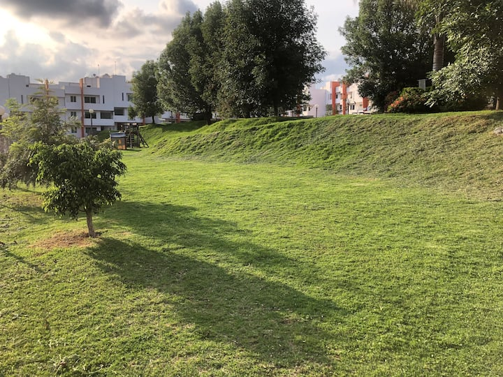 Cholula - Cómodo departamento en zona tranquila