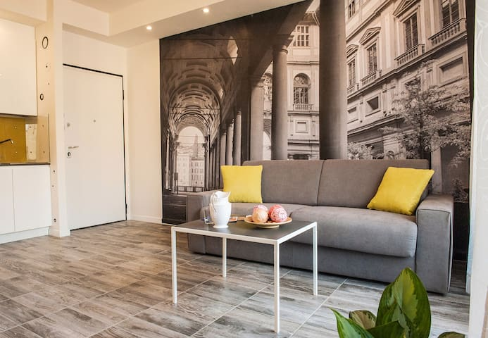 Design apartment in a historical building