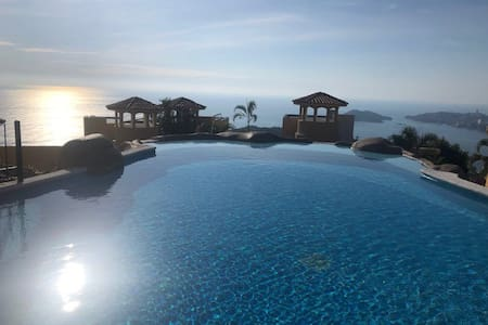 Get away from the cold and come enjoy Acapulco bay