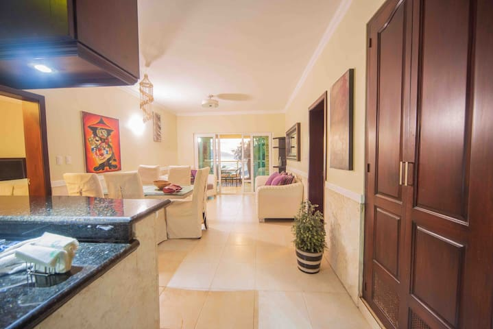 ByronPenthouse,2BHD,Guest friendly, hart of SOSUA