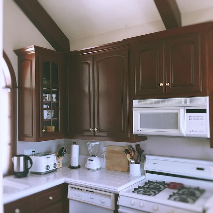 Fully equipped kitchen if you feel like cooking