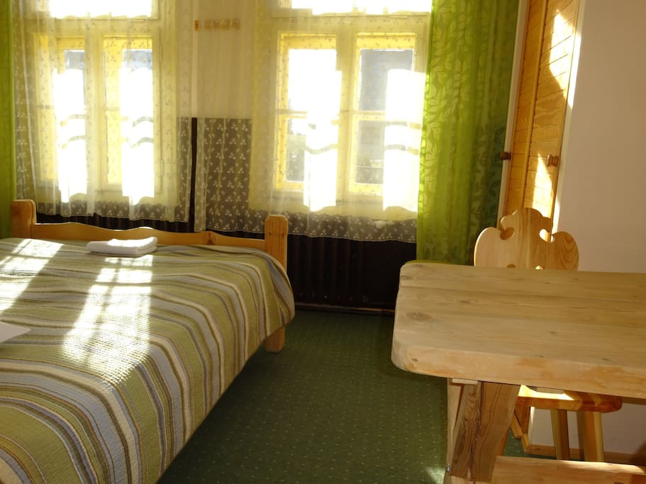 Double room with 2 beds double and single