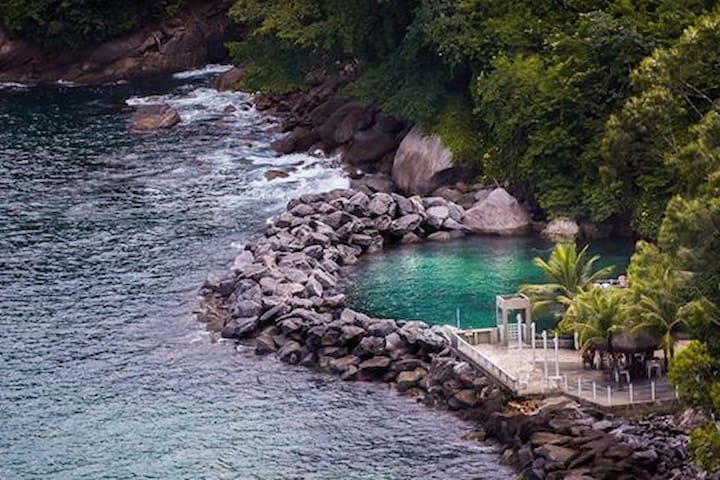 Cobertura Resort com total infraestrutura de lazer - Mangaratiba